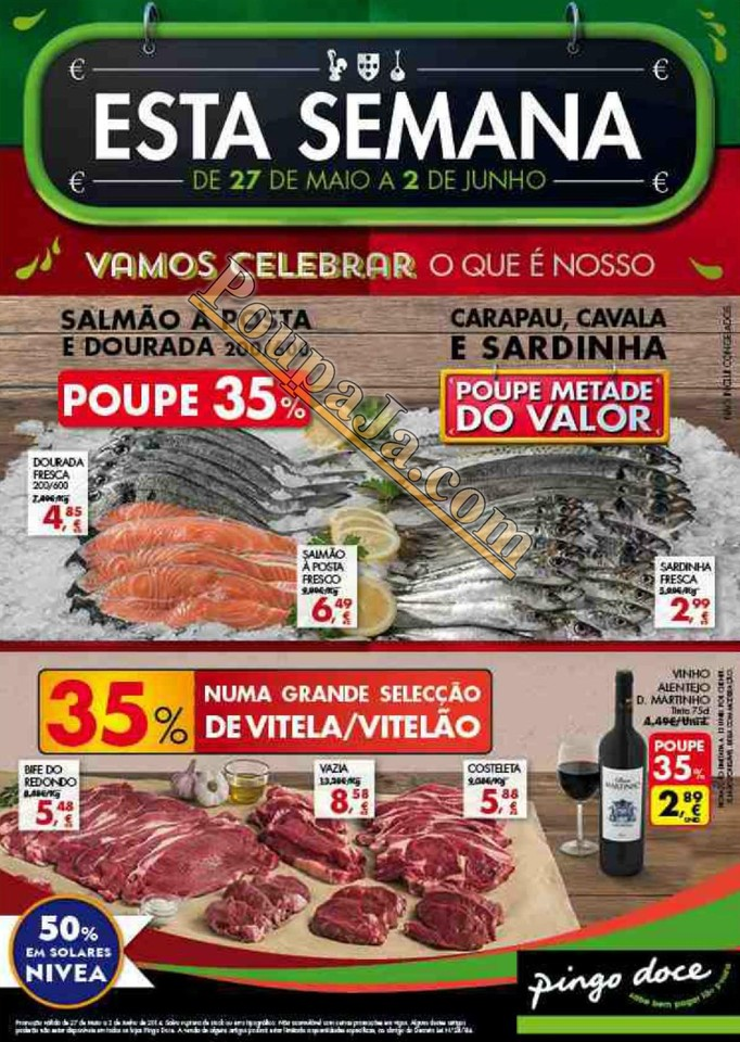 Antevisão Promoções Novo Folheto Pingo Doce - de 27 maio a 2 junho - Parte1