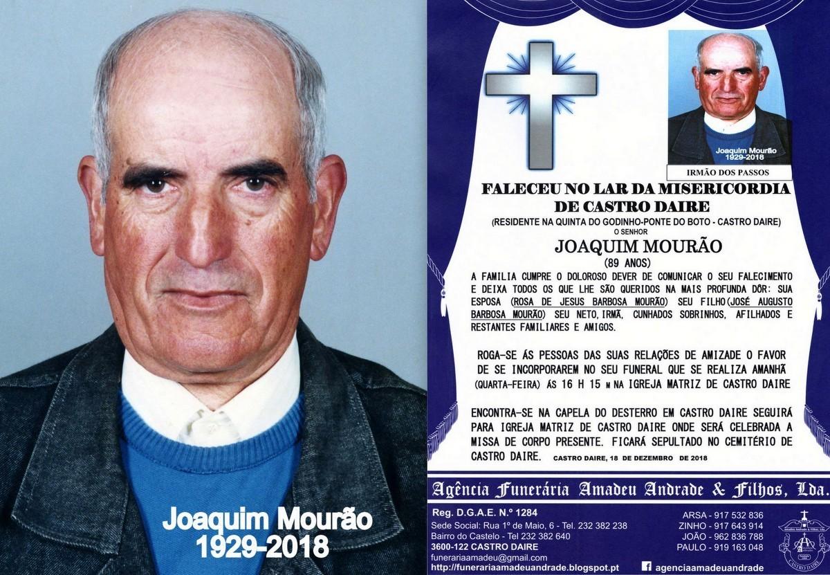 FOTO RIP  DE JOAQUIM MOURÃO-89 ANOS (CASTRO DAIRE