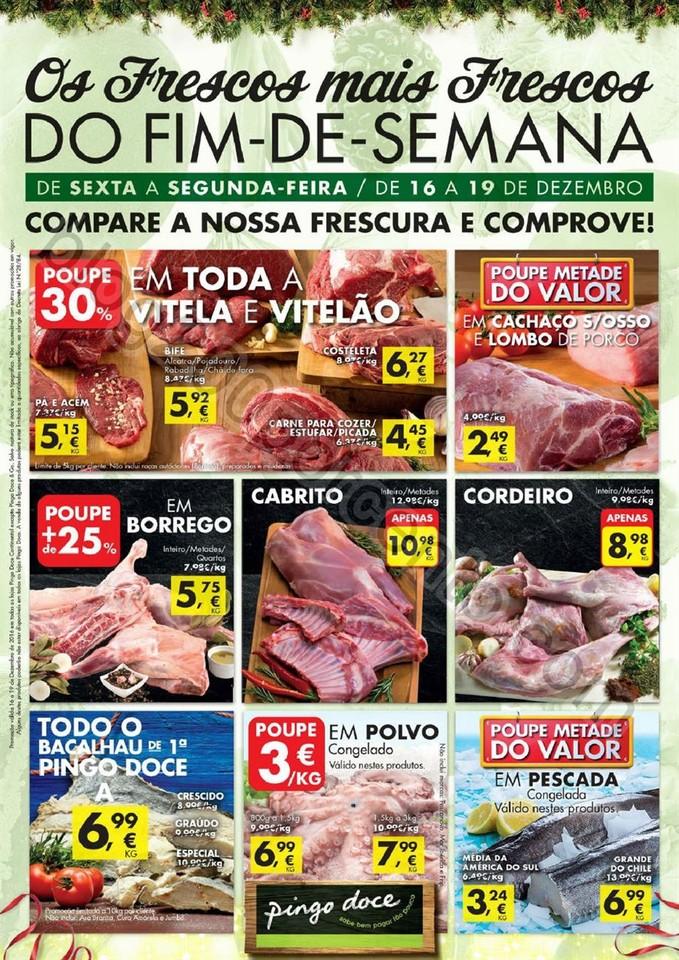 Antevisão Folheto PINGO DOCE Fim de semana de 16