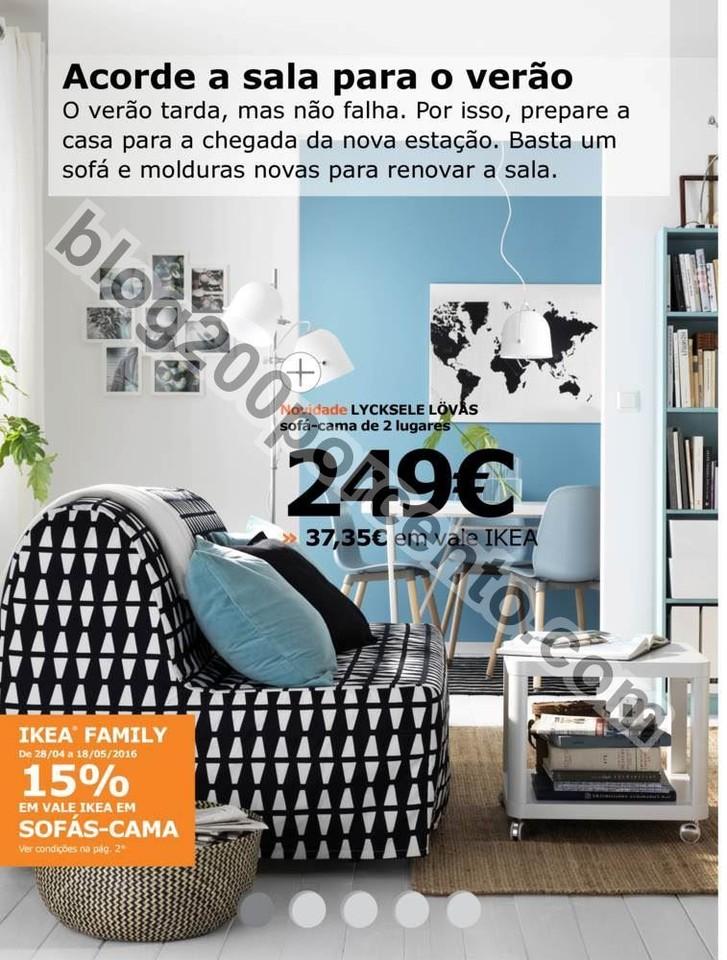 Antevisão Folheto IKEA promoções de 28 abril a
