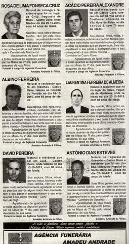 NECROLOGIA NOTICIAS DE CASTRO DAIRE -10 DE NOVEMBR