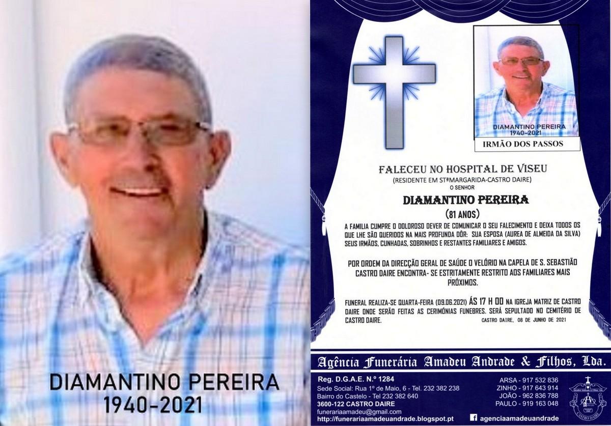 FOTO RIP DE DIAMANTINO PEREIRA -81 ANOS (STªMARGA