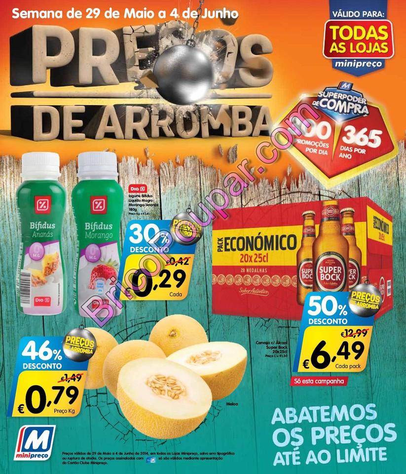 Antevisão Novo Folheto Minipreço - de 29 de maio a 4 de junho