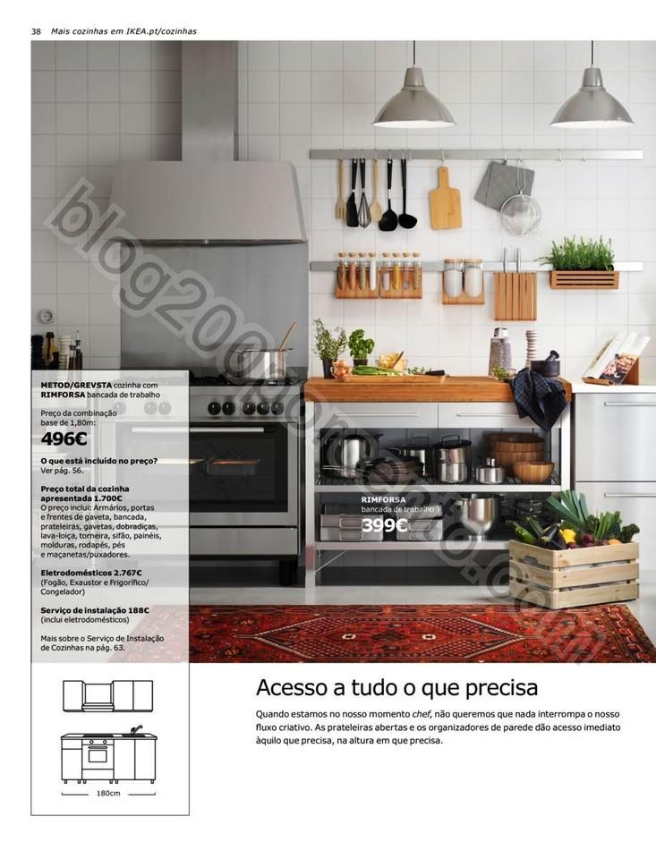 Antevisão Folheto IKEA Cozinhas promoções até