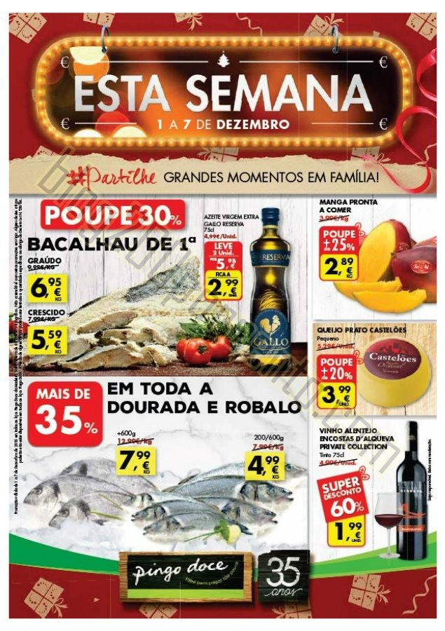 Antevisão Folheto PINGO DOCE Madeira de 1 a 7 dez