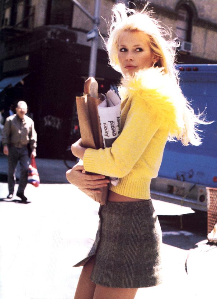 Claudia Schiffer, Vogue US, 1994 by Pamela Hanson.