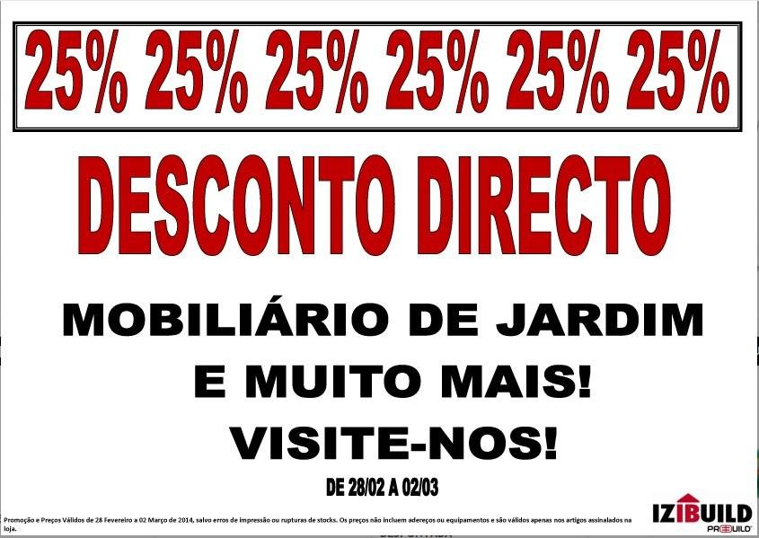 25% de desconto direto | IZIBUILD | de 28 fevereiro a 2 março