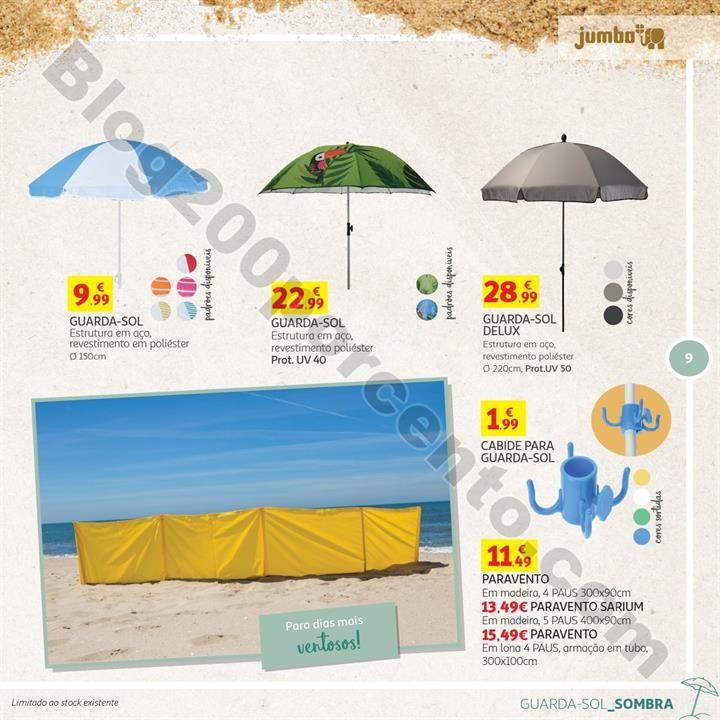 Especial Praia e Campismo JUMBO Promoções de 10