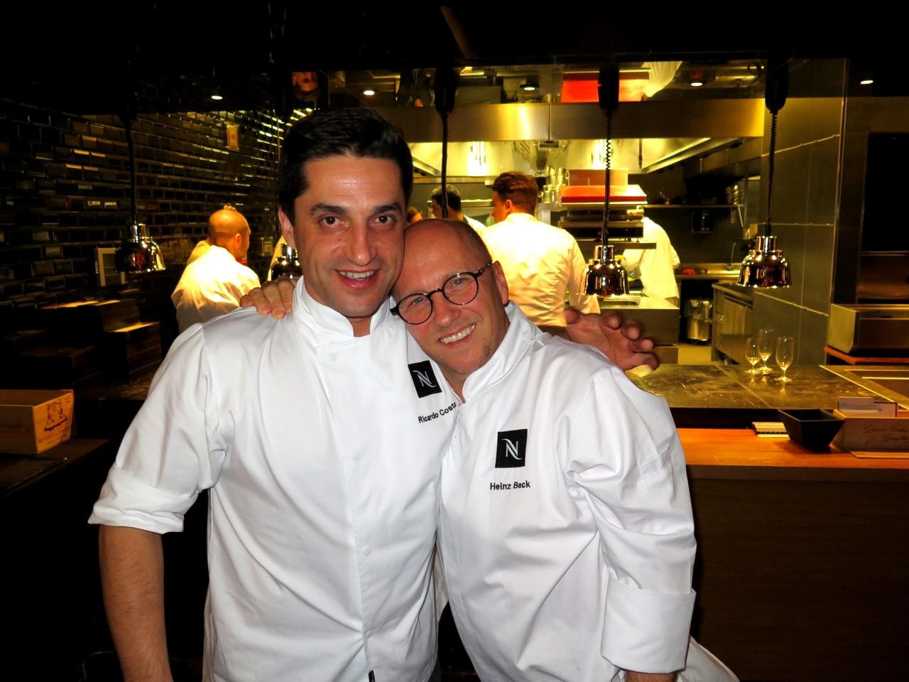 Ricardo Costa e Heinz Beck