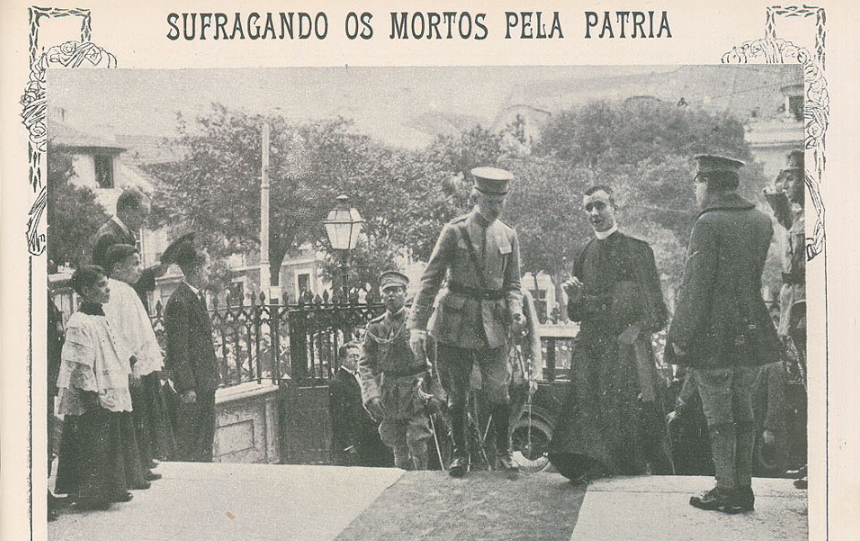 Sidónio Pais na Sé 15-5_ilustração Portuguesa