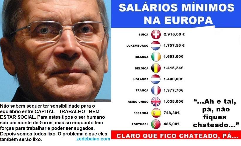 belemiro de azevedo, modelo, continente, salários, europa