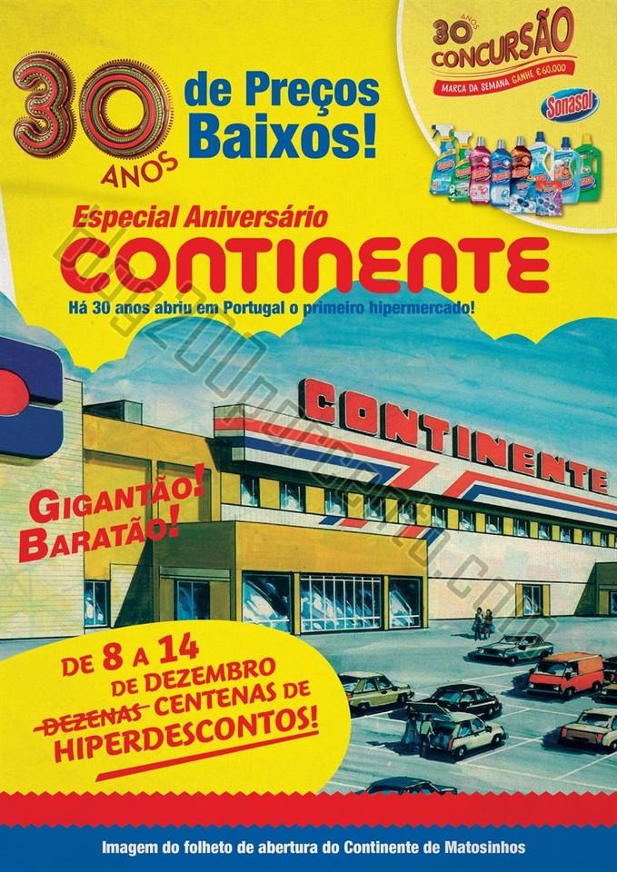 Antevisão Folheto CONTINENTE Promoções de 8 a 1