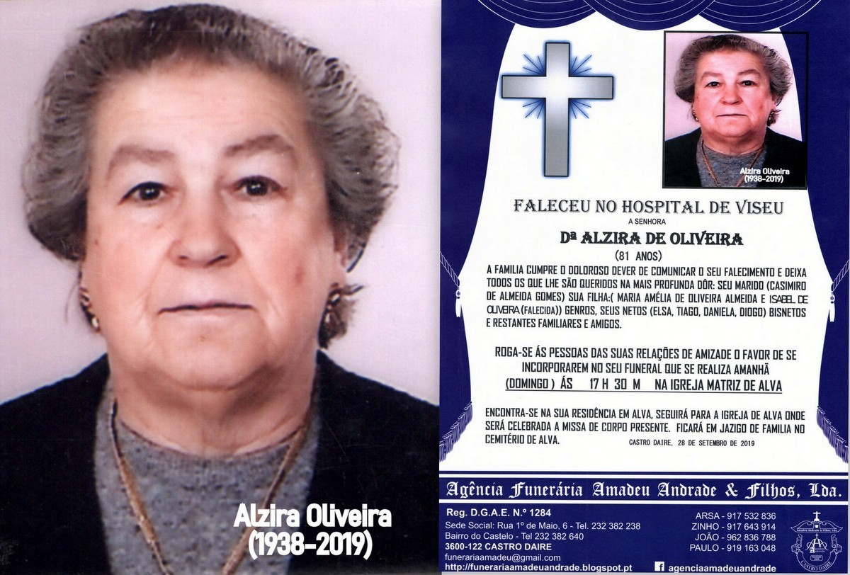 FOTO RIP DE ALZIRA DE OLIVEIRA-81 ANOS(ALVA).jpg