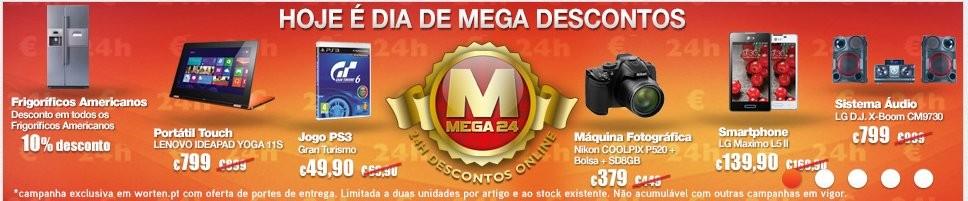 Mega24 | WORTEN | os Preços de Hoje