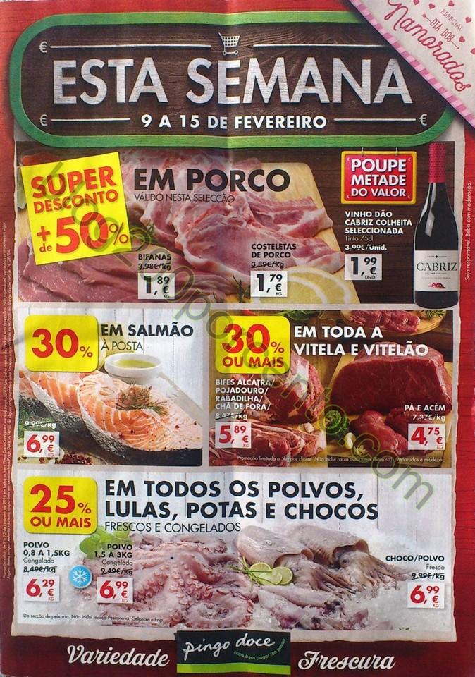 Antevisão Folheto PINGO DOCE Promoções de 9 a 1