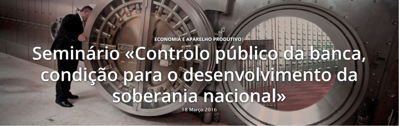 Seminário controlo público banca 2016-03-18