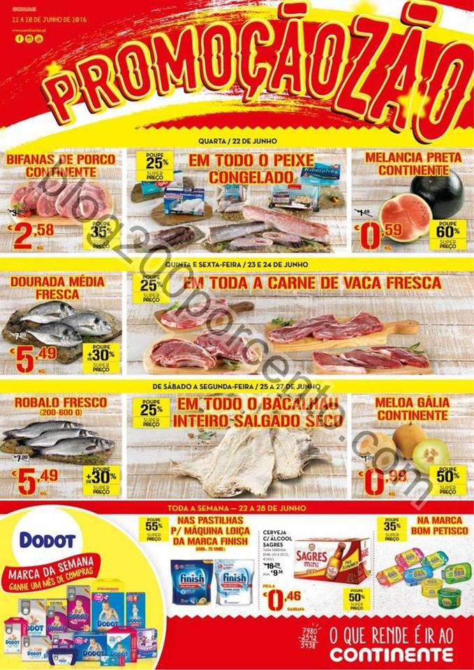 Antevisão Folheto CONTINENTE - MODELO Madeira pro