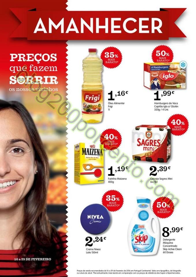 Antevisão Folheto AMANHECER promoções de 16 a 2