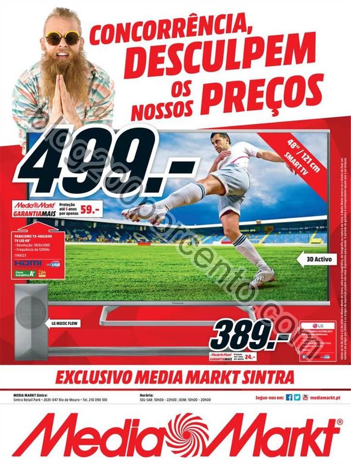 Antevisão Folheto MEDIA MARKT Sintra Promoções