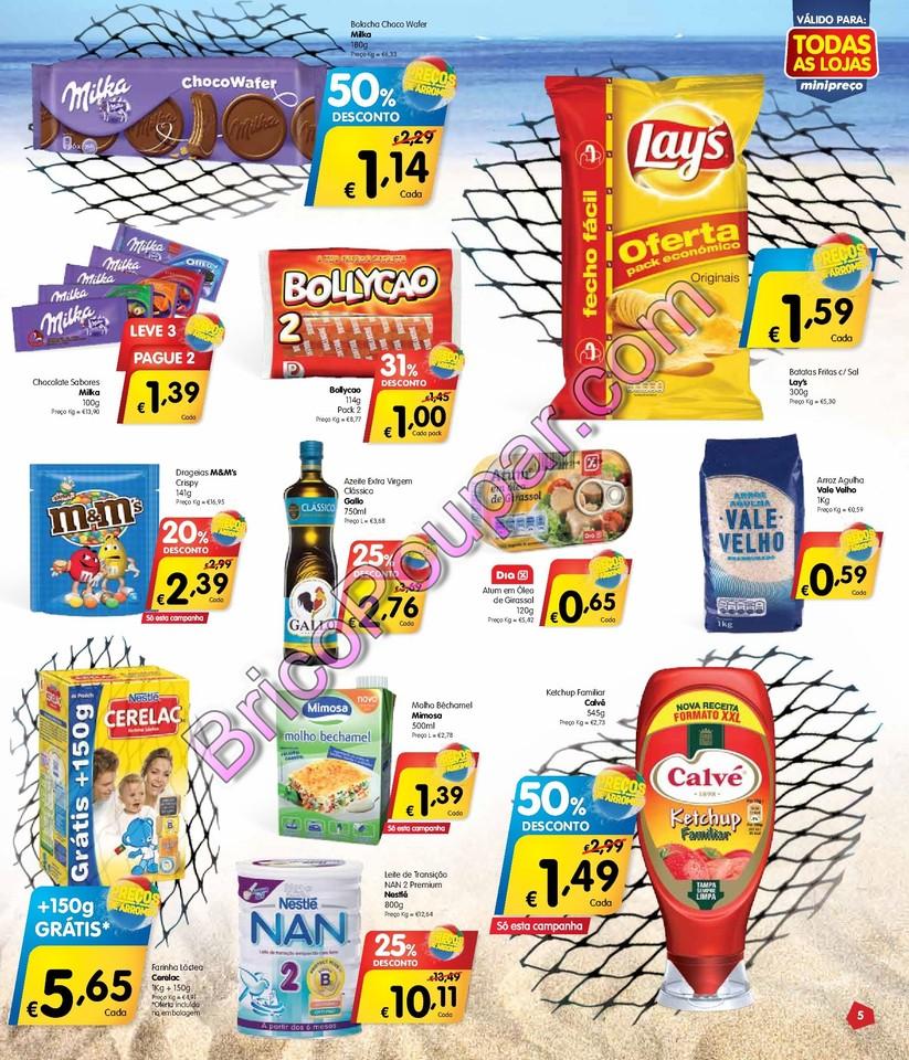 Antevisão Promoções Folheto Minipreço - de 10 a 16 de julho