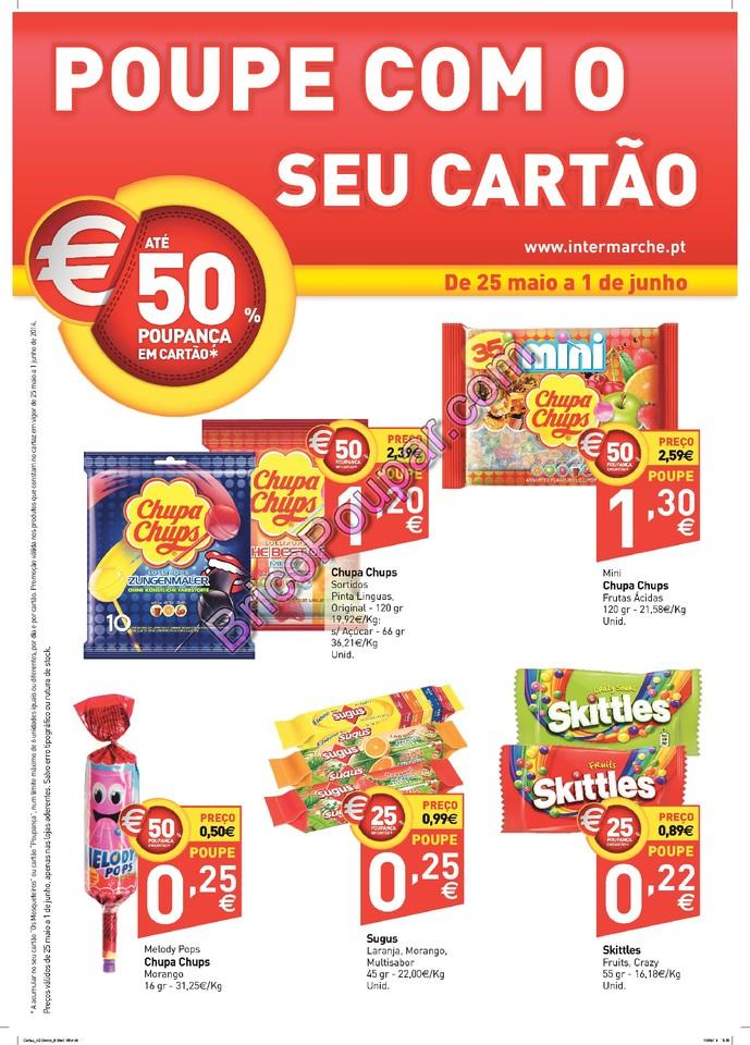 Antevisão Promoções Novo Folheto Intermarché - ChupaChups - de 27 de maio a 2 de junho