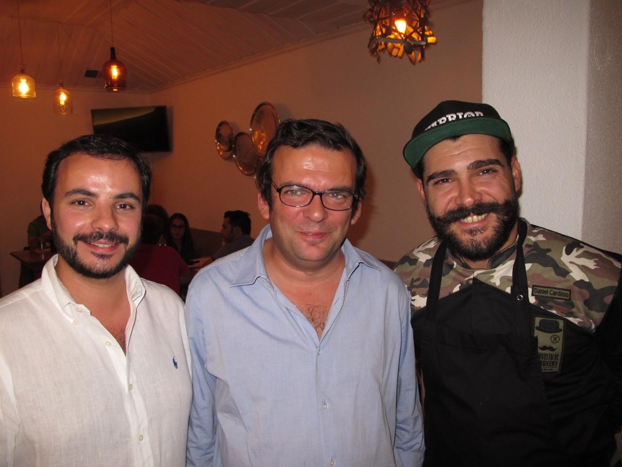 João Jorge, Joaquim Arnaud, Daniel Cardoso
