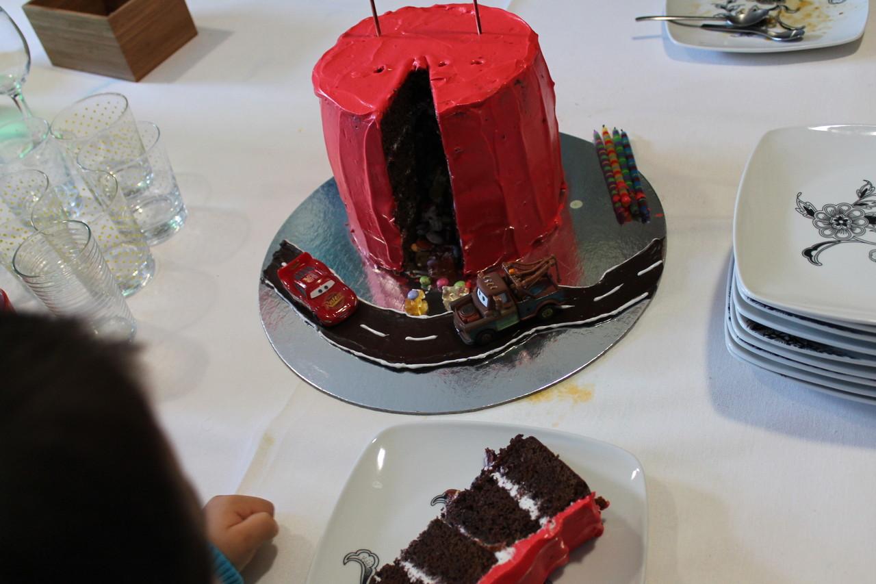 o bolo