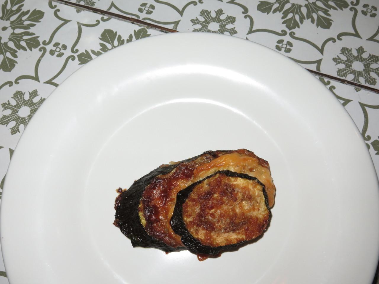 Zucchine al forno con stracchino