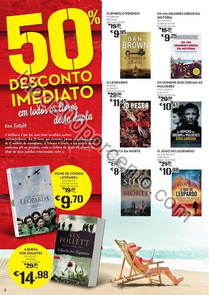 ANtevisão Folheto CONTINENTE Feira do livro promo