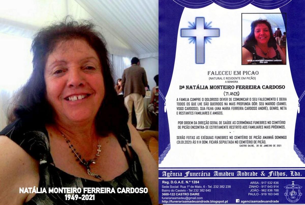 FOTO RIP DE NATÁLIA MONTEIRO FERREIRA CARDOSO-PIC