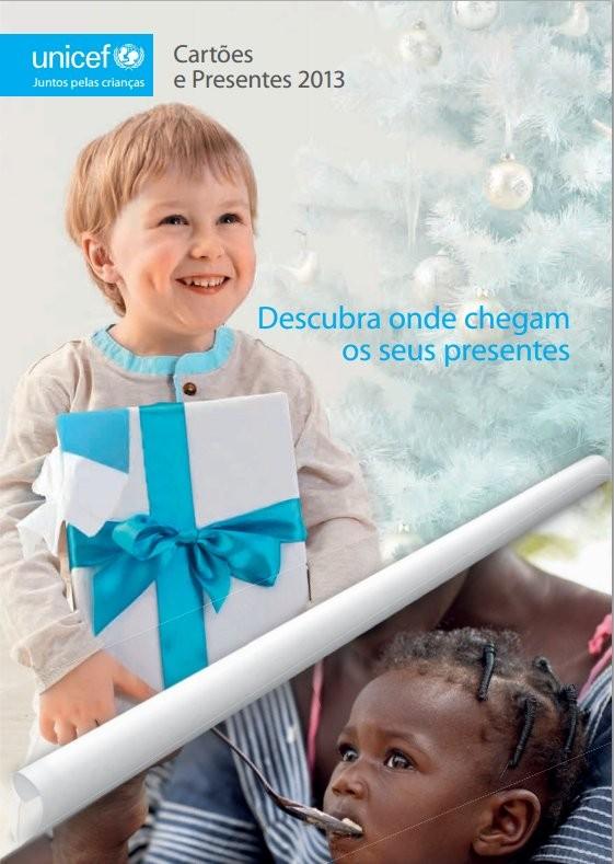 Catalogo | UNICEF | Presentes de Natal 2013