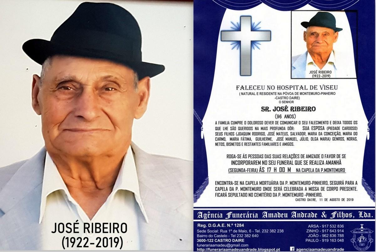 FOTO RIP DE JOSÉ RIBEIRO-96 ANOS (PÓVOA DE MONTE