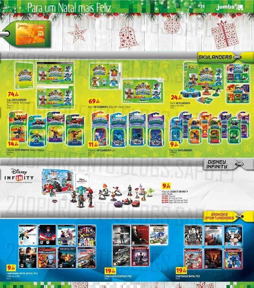 Folheto | JUMBO | até 24 dezembro, Videojogos