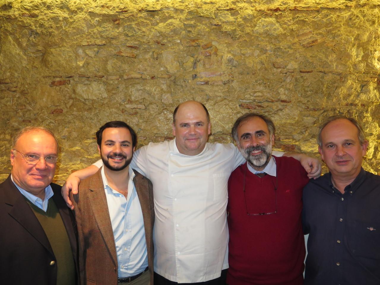 Professor Virgílio Loureiro, João Jorge, Chef Walter Blazevic, Pedro Verdelho, Professor Manuel Malfeito Ferreira