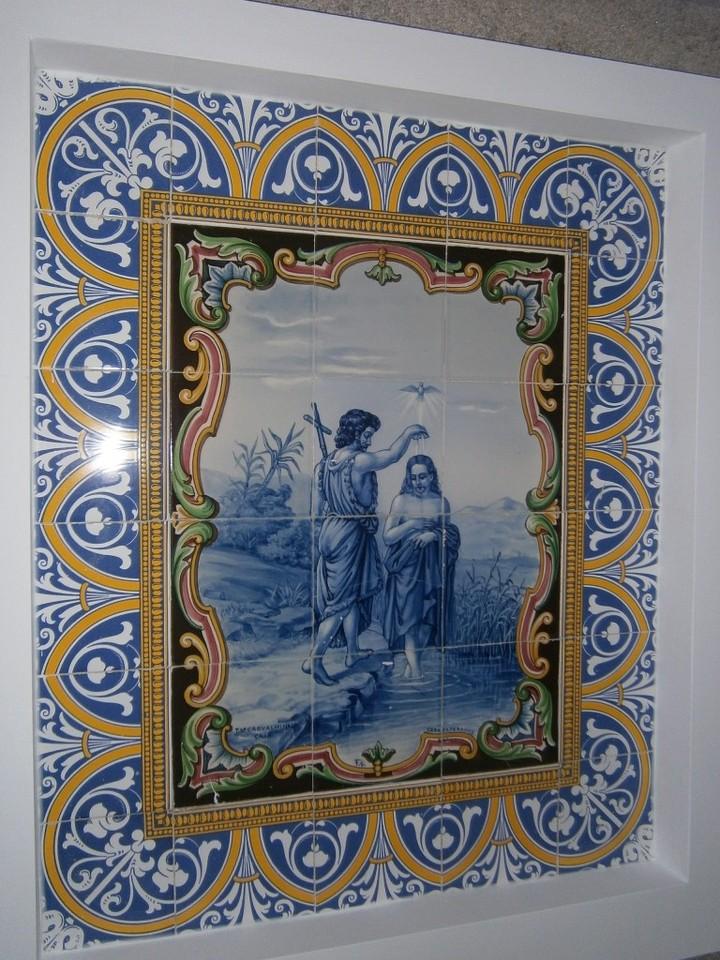 Azulejos Batismo Jordão