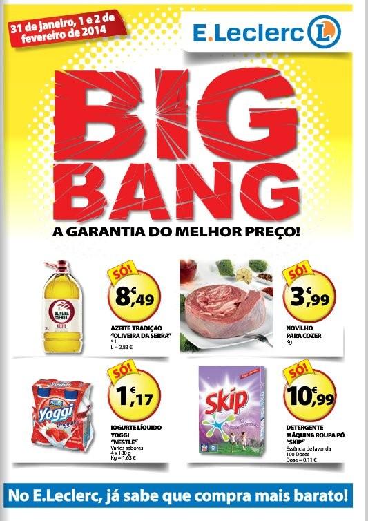 Bigbang | E-LECLERC | de 31 janeiro a 2 fevereiro