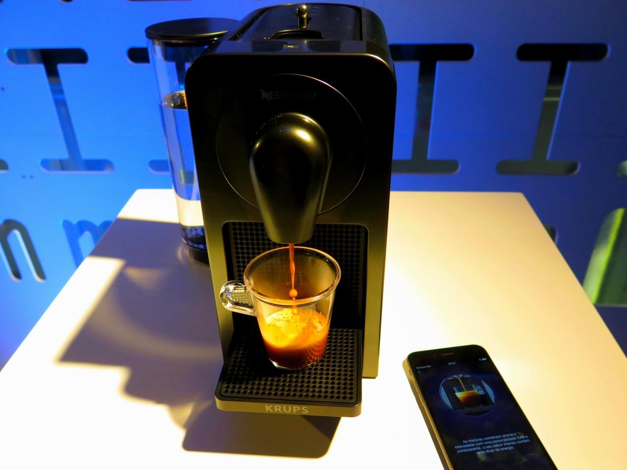 Prodigio, a primeira máquina da Nespresso conectável ao telemóvel
