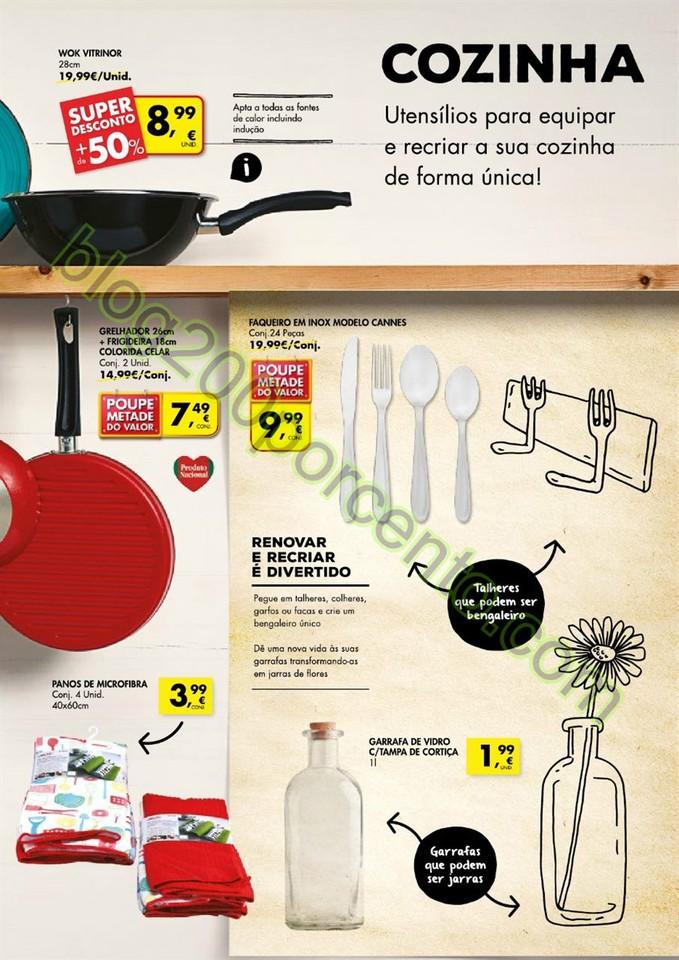 Novo Folheto PINGO DOCE Renovar e Reciclar de 25 f
