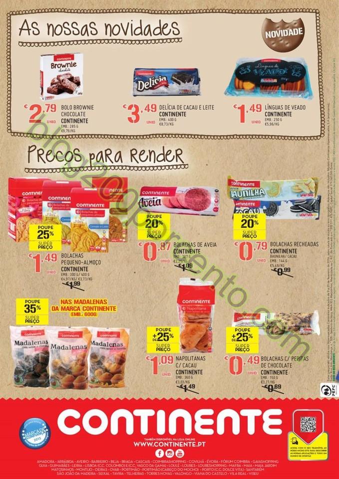 Antevisão Folheto CONTINENTE Extra Bolachas de 9