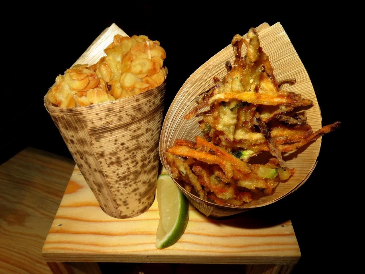 Cones de tempura
