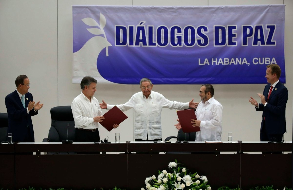 Colômbia diálogos paz1