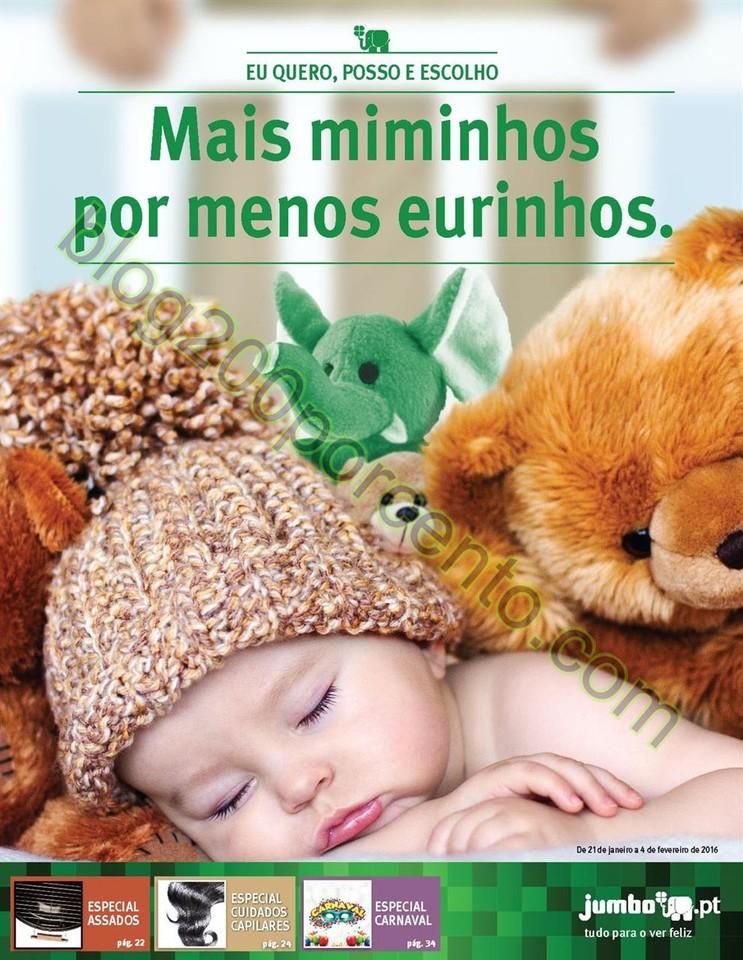Antevisão Folheto JUMBO Especial Bebé promoçõe