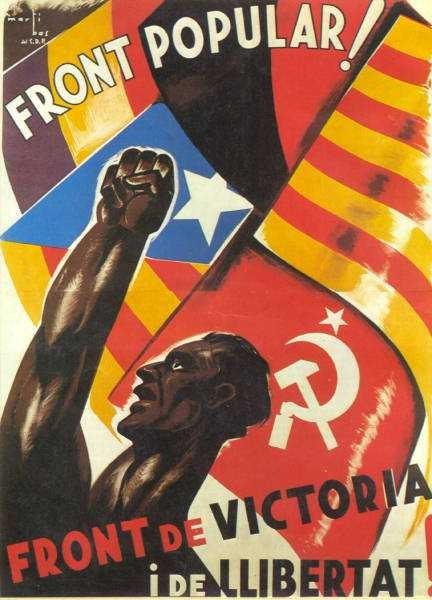 Martí Bas, Front de Victoria i de Libertad (1936)