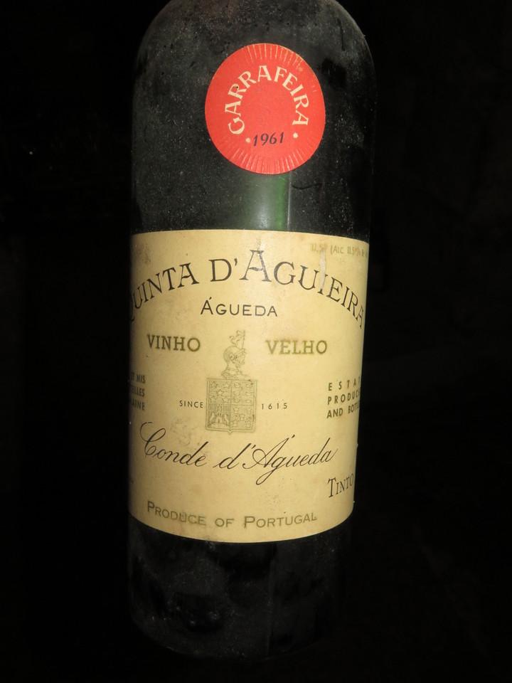 Quinta d'Aguieira, Garrafeira, tinto, 1961