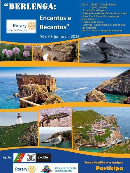 16 06 01 - Rotary - Cartaz de Viagem à Berlenga.j