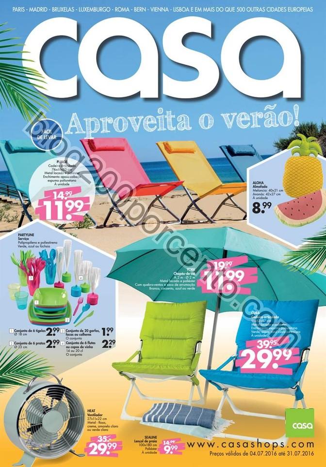 Antevisão Folheto CASA Promoções de 4 a 31 julh