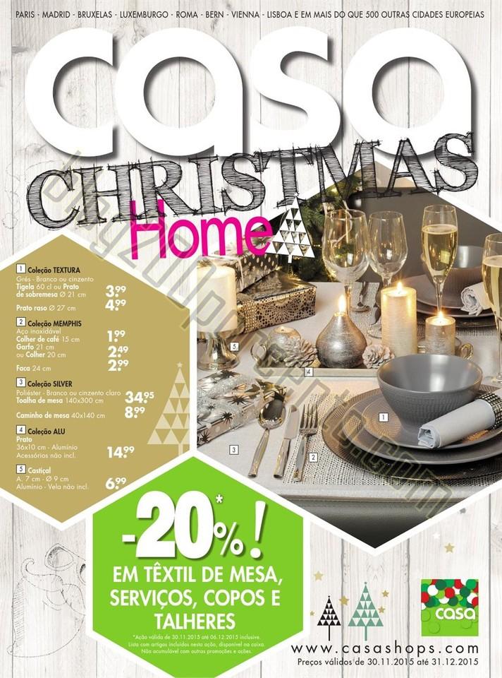 Novo Folheto CASA Natal promoções de 30 novembro