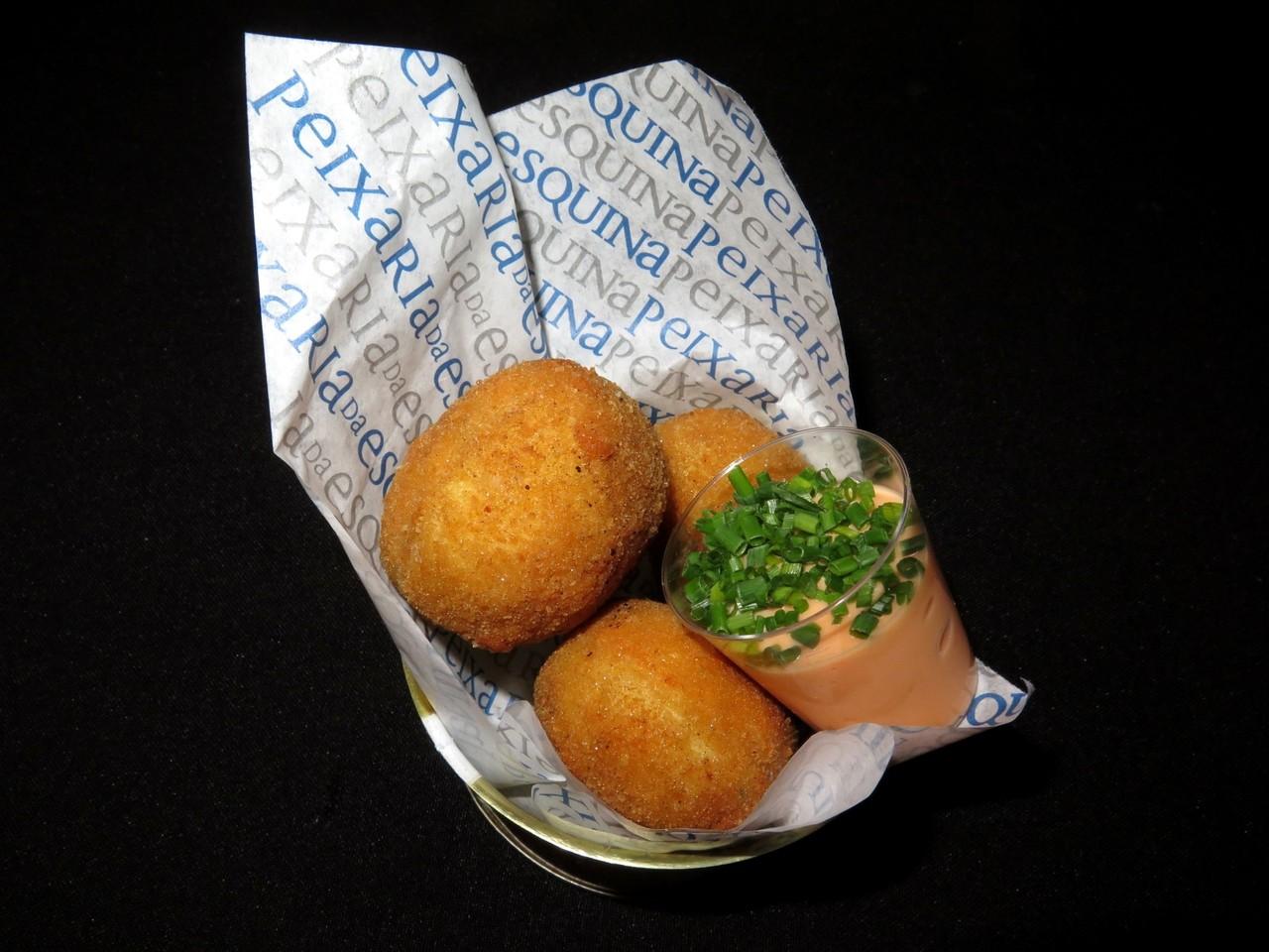 Ovos Verdes com Caviar de Salmão