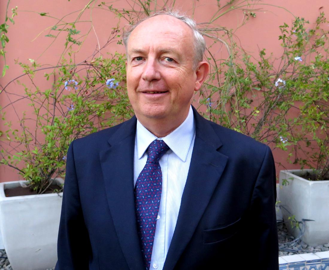 Embaixador Jean-François Blarel