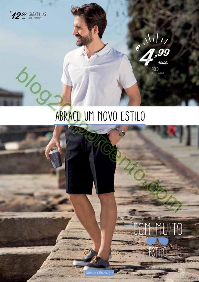Antevisão Folheto CONTINENTE Moda Primavera de 8